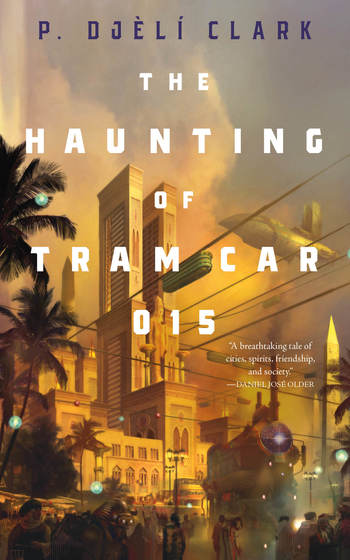 The cover for the novella 'The Haunting of Tram Car 015'